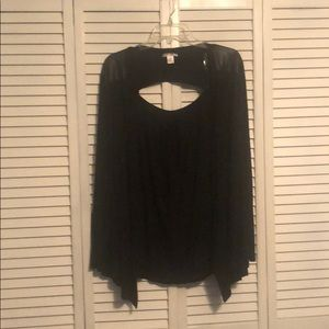 Brand new without tags size 2x black cardigan